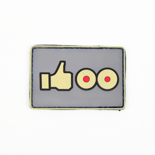 Like Boobs - Grey - Morale Patch