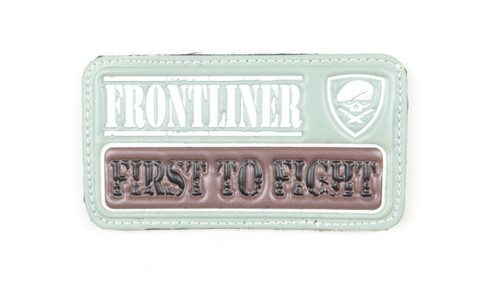 Frontliner - First to Fight - Green - Morale Patch