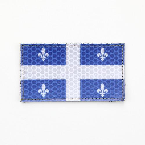 Quebec Flag - HiViz - Morale Patch