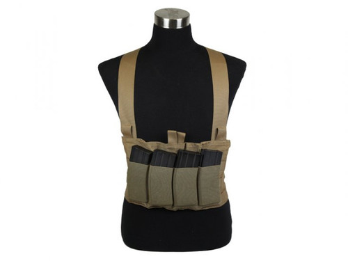 Blue Force Gear Ten-Speed M4 Chest Rig - Coyote Brown