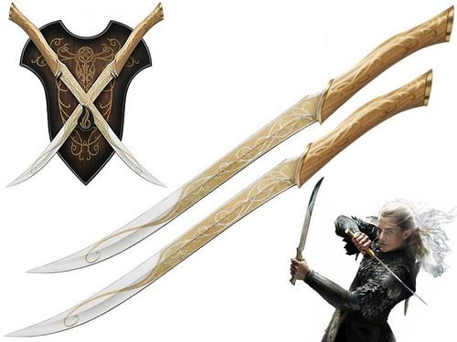 The Hobbit: Fighting Knives of Legolas Greenleaf