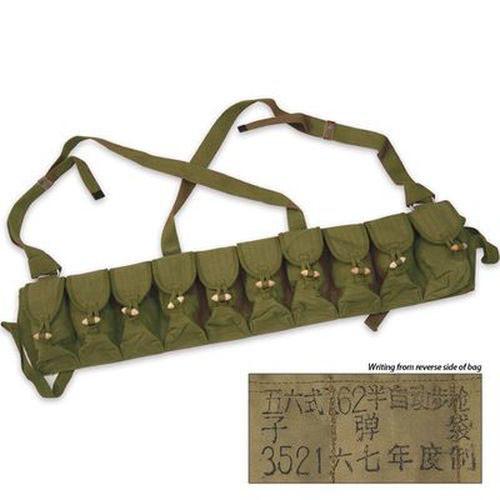Military Issue SKS Ten Pocket Bandolier