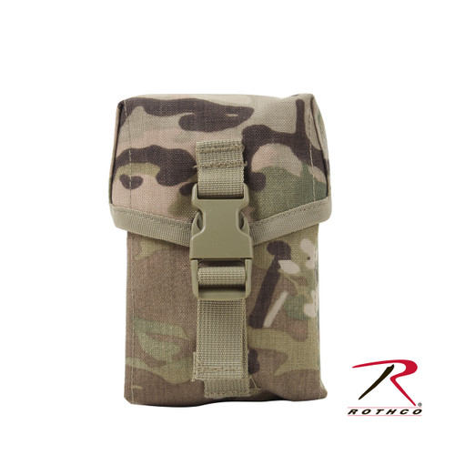 Rothco MOLLE II 100 Round Saw Pouch - MultiCam