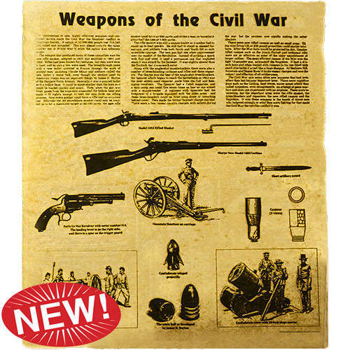 Weapons of the Civil War - Poster