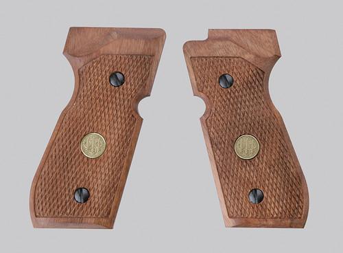 Beretta M92 Grips - Wood
