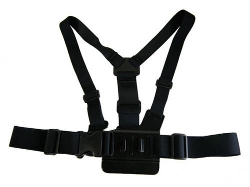 Bravo Airsoft Chest Belt Harness for GoPro, Hero2, Hero3 - Black