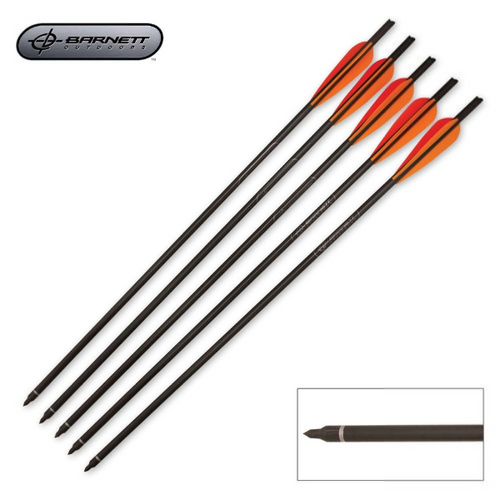 Barnett Crossbows 20 Inch Headhunter Arrows - 5 Count