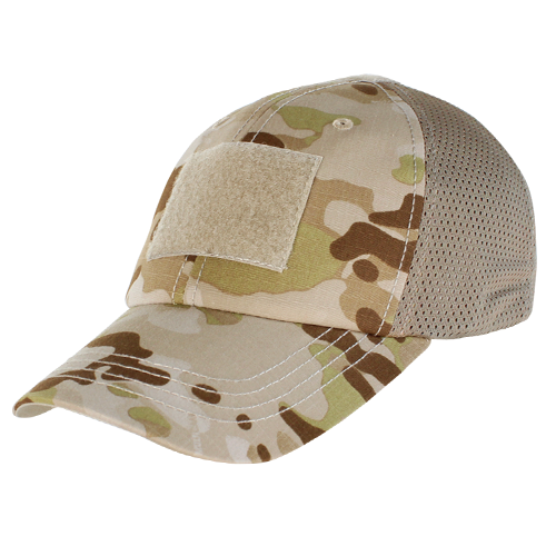 Condor Mesh Tactical Cap - MultiCam Arid
