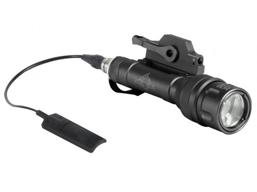 Bravo Airsoft Scout V Tactical Flashlight w/ Pressure Pad and Mount - Black