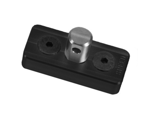 Speed Airsoft KeyMod Bipod Stud Mount - Black