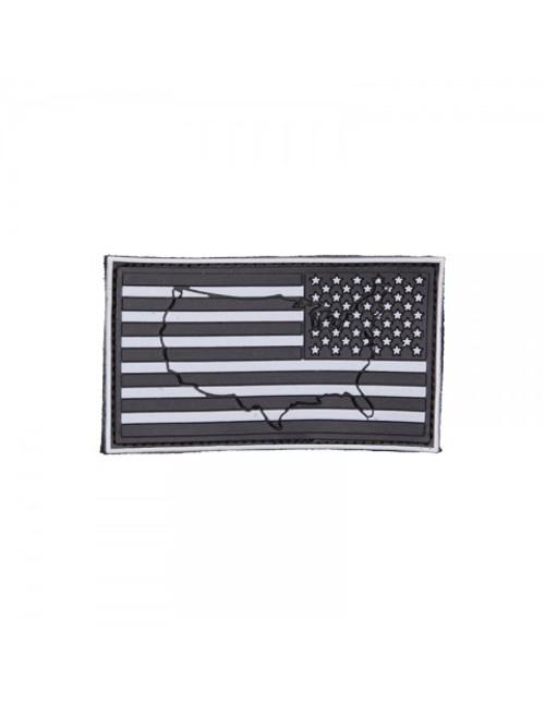 US Flag - SWAT - Reverse (Raised) - Morale Patch