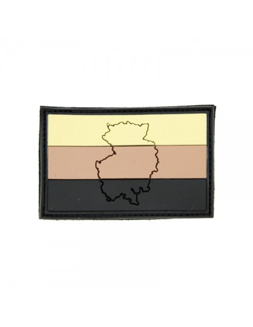 German Flag (Raised) - Tan - Morale Patch