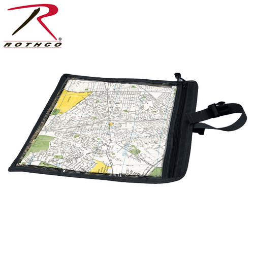 Rothco Map & Document Case - Black