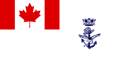 Canadian Armed Forces Navy Flag