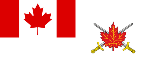 Canadian Armed Forces Command Flag