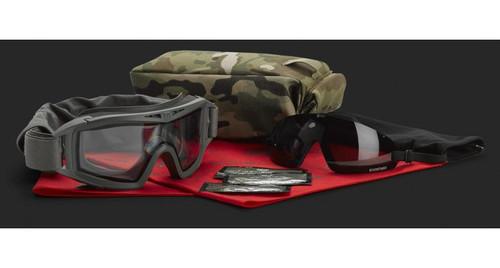 Revision Airsoft Desert Locust Exoshield Combo Kit - Black