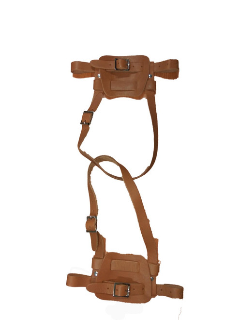 Canadian Leather Snowshoe Harness
