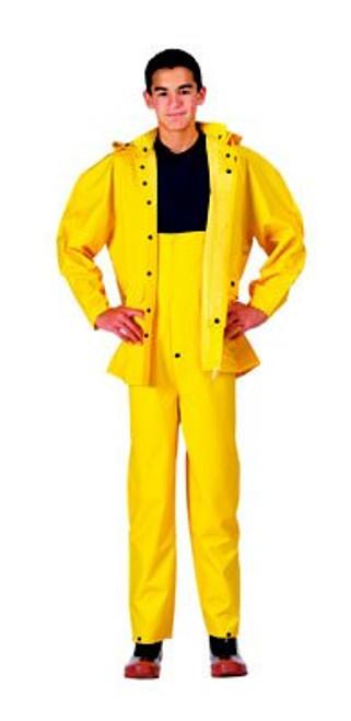 Rain Suit Deluxe Heavyweight PVC - Yellow