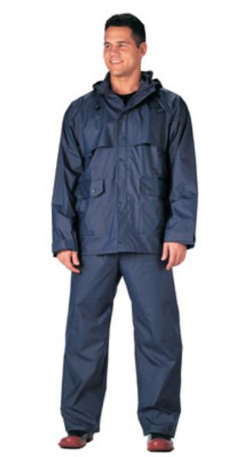 Rothco Microlite Rainsuit - Navy Blue