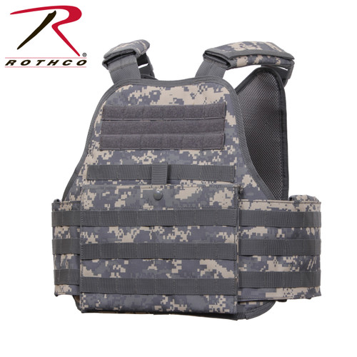 Rothco MOLLE Plate Carrier Vest - ACU