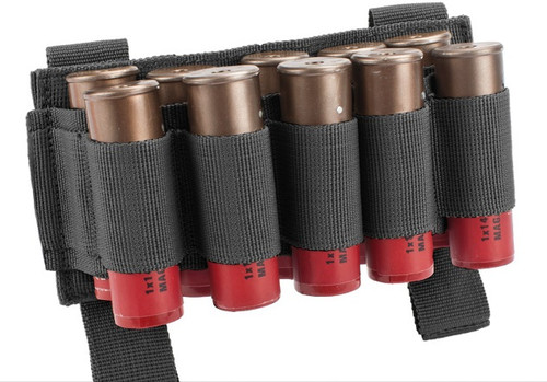 Matrix 10 Shotgun Shell MOLLE System Ready Pouch/Holster - Black