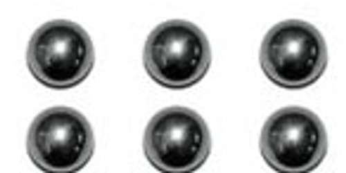 King Arms 3mm Ball Bearing For 40mm Airsoft Grenades - Set of 6