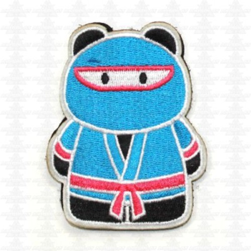Epik Panda - Ninja - Morale Patch - Teal / Pink