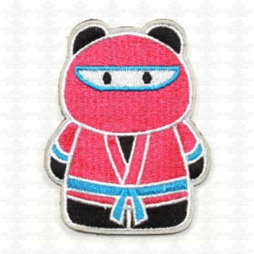 Epik Panda - Ninja - Morale Patch - Pink / Teal