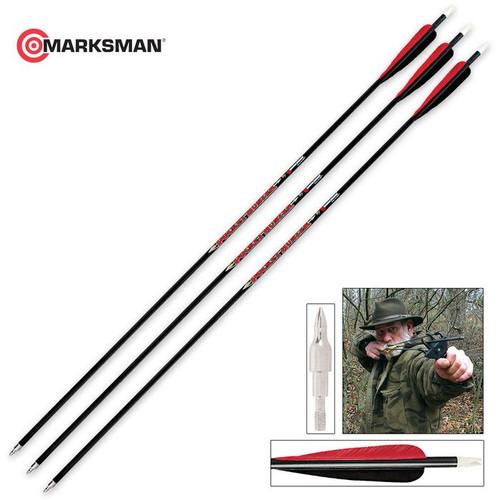 Carbon Arrow Kit Three Arrows