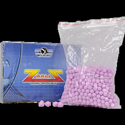 Z-Balls - GXG Reusable Rubber Balls-50 cal 1000 Ct-Purple