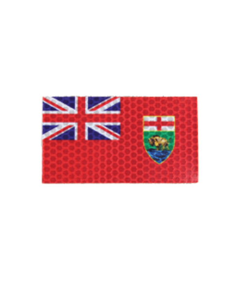Manitoba Flag - HiViz - Morale Patch