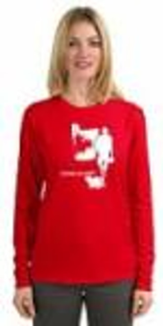 Long Sleeve T-Shirt - Canadian Heroes - Red