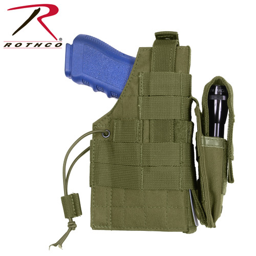 Rothco MOLLE Modular Ambidextrous Holster - Olive Drab