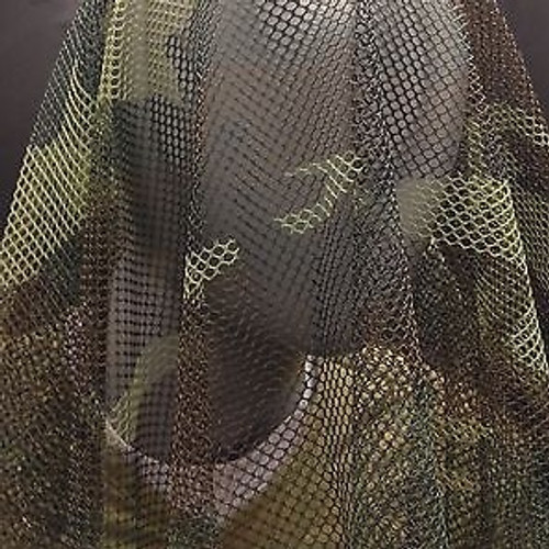 U.S. Armed Forces Camouflage Cover / Sniper Veil -Woodland Camo