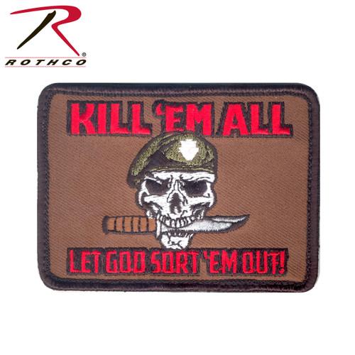 Kill Em All Let God Sort Em Out Morale Patch