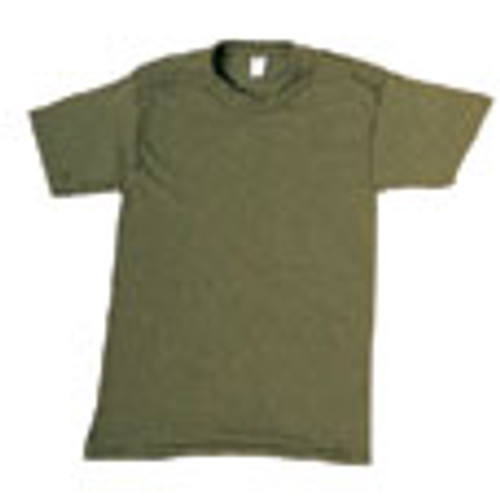 Solid T-Shirt Cotton - Olive Drab