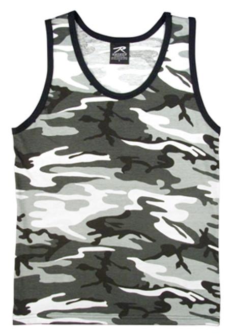 Camouflage Tank Top - Urban Camo