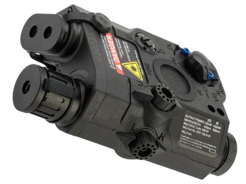 Element EX276 Airsoft LA-5 PEQ15 Flash Light / Red Laser / IR Device