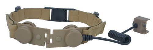 Element Z-Tactical Throat Mic Adapter For Z029 Headset - Tan