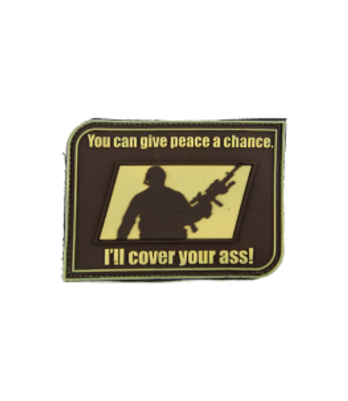 Give Peace a Chance - Tan - Morale Patch