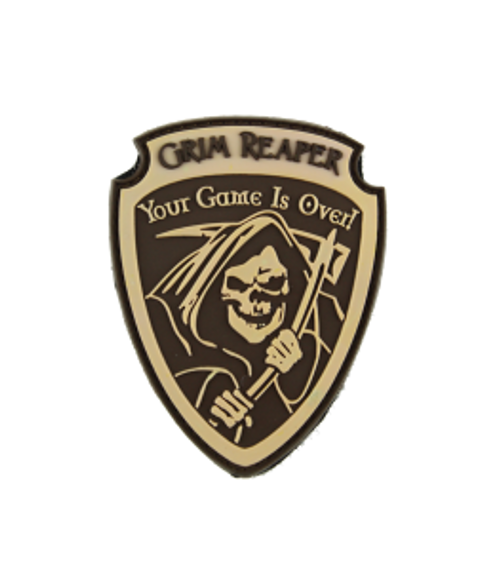 Grim Reaper - Tan - Morale Patch