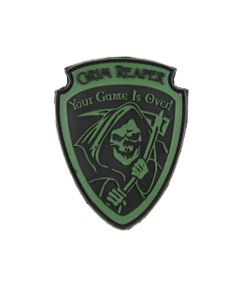 Grim Reaper - Green - Morale Patch