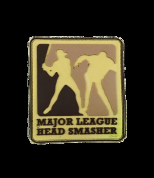 Major League Head Smasher - Tan - Morale Patch