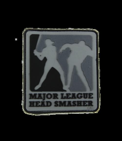 Major League Head Smasher - Grey - Morale Patch