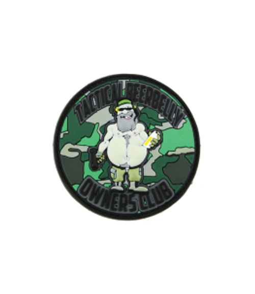 Tactical Beer Belly Owners Club - Camo - Morale Patch