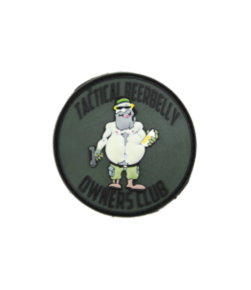 Tactical Beer Belly Owners Club - Green - Morale Patch