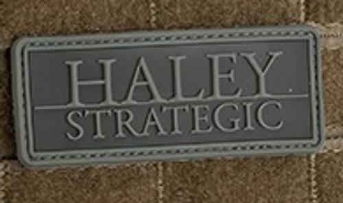 Haley Strategic Partners PVC - Morale Patch - Disruptive Grey