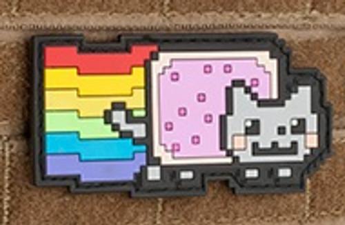 Aprilla Design PVC IFF Hook & Loop Pop Culture Series Patch (Model: Nyan Cat)