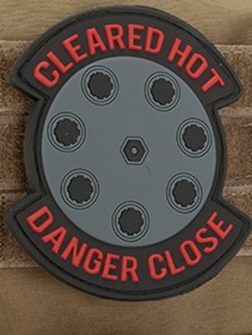 Danger Close 3D PVC - Morale Patch