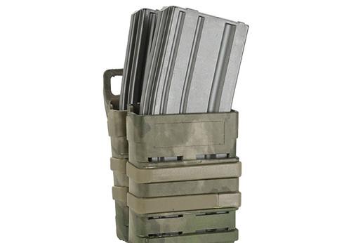 Avengers Fast Hard Shell Magazine Holster - 2x Rifle Mag Configuration (Arid Foliage)